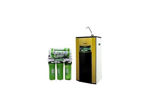 Máy lọc nước Kangaroo 9 lõi Omega vỏ tủ VTU + đèn UV KG110