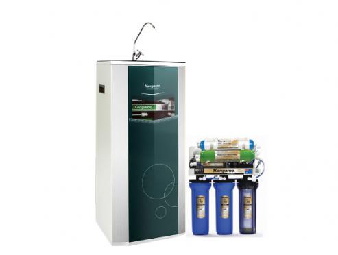 Máy lọc nước Kangaroo 9 lõi vỏ tủ VTU KG109